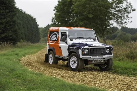 Land Rover Defender One-Make Rally Series Launched
