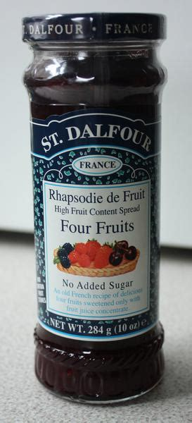 4 Fruits Jam in 284g from St Dalfour