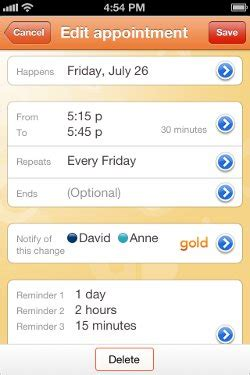 Introducing Calendar Change Notifications in Cozi Gold