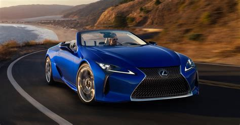 2021 Lexus LC 500 Convertible Drops Its Top in Los Angeles
