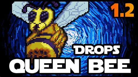 Terraria: How to summon and defeat Queen Bee - YouTube
