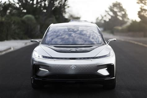 Faraday Future shows off the FF91 at exclusive test drive