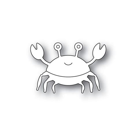 Simon Says Stamp PICTURE BOOK CRAB Wafer Dies s590