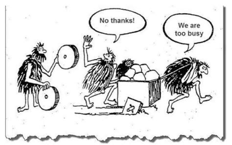 No thanks! We are too busy | Innovatie, Kaizen, Positieve