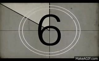 Free Old Film Countdown HD with download Link on Make a GIF