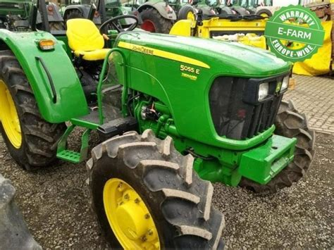 John Deere 5055E wheel tractor from Germany for sale at