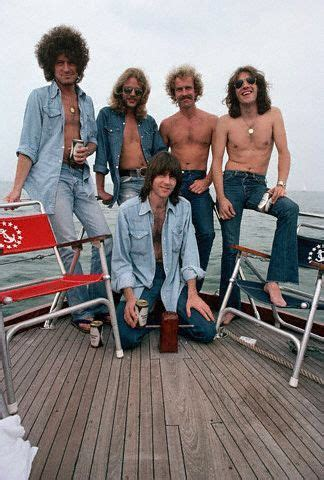 1975, Chicago, Illinois, USA --- Band Members of The