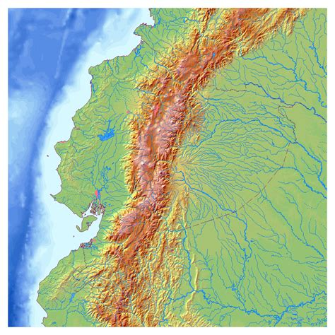 Maps of Ecuador | Map Library | Maps of the World