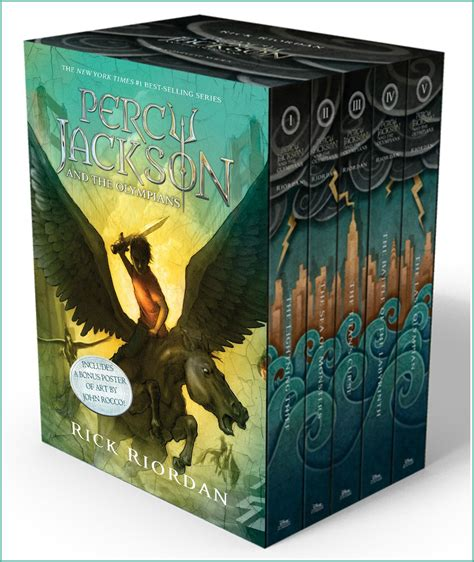 Beth Fish Reads: Celebration & Giveaway: Percy Jackson and