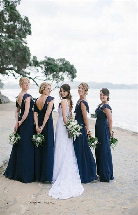 Trending-30 Navy Blue and Greenery Wedding Ideas for 2021