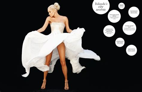 Yolanda Foster - Love this dress! Could be a bridal gown