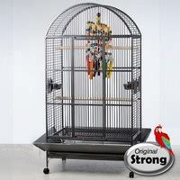 Strong Papegaaienkooi Andrea grijs - Pets Gifts