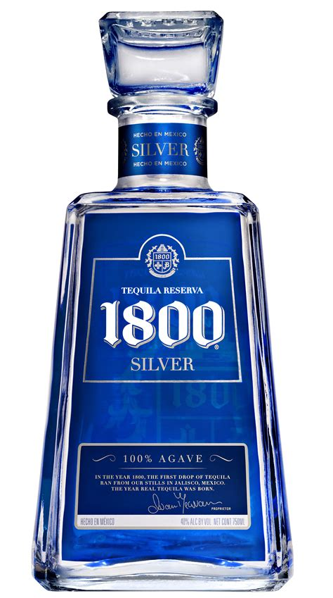 1800 Silver Tequila   Flawless Crowns