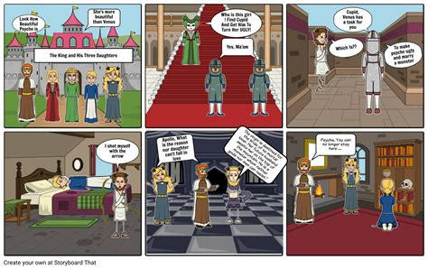 Cupid & Psyche Storyboard by 6d2072bb