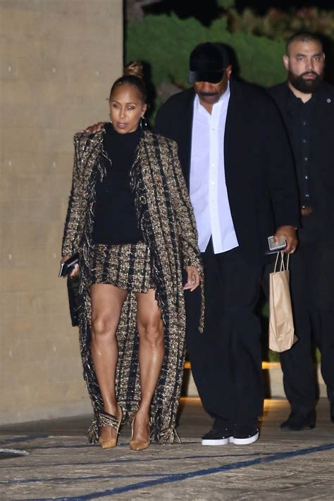 Steve Harvey and his wife Marjorie Harvey have dinner at