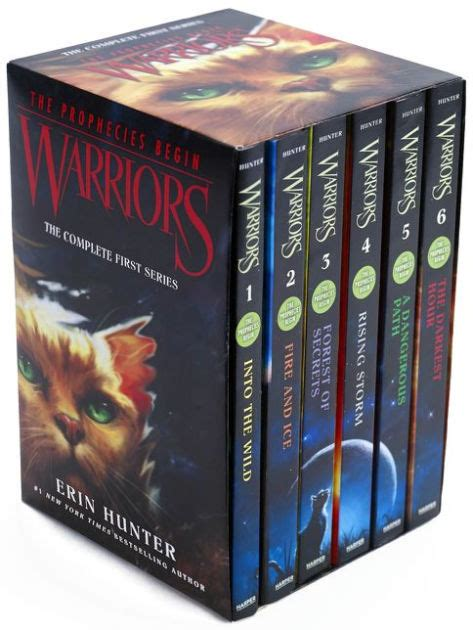 Warriors Box Set: Volumes 1 to 6: The Complete First
