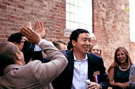 Andrew Yang is running for President to save America from