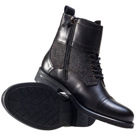 Tommy Hilfiger Bologna 1c Womens Boots in Black