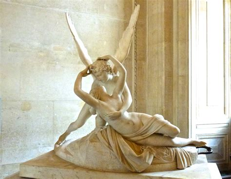 Psyche revived by Cupid's kiss - Antonio Canova | Louvre