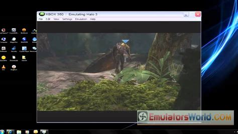 XBOX 360 Emulator Official release [HD] - YouTube