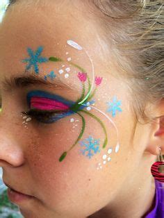 anna frozen face painting - Google Search | Bemalte