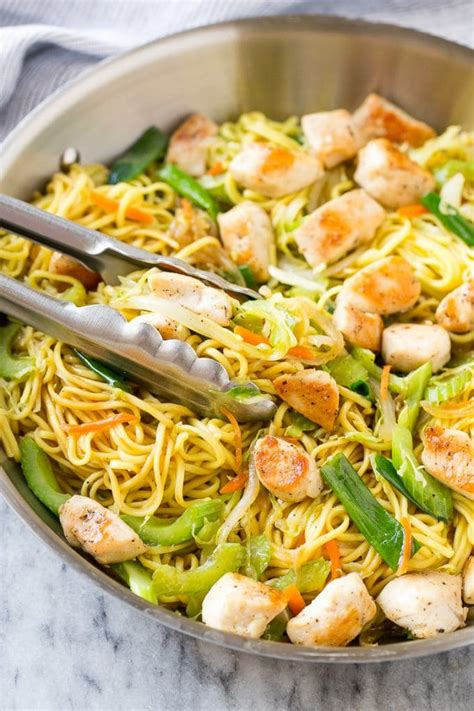 Chicken Chow Mein - Dinner at the Zoo