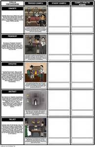 Foreshadowing Examples |Types of Foreshadowing Worksheet